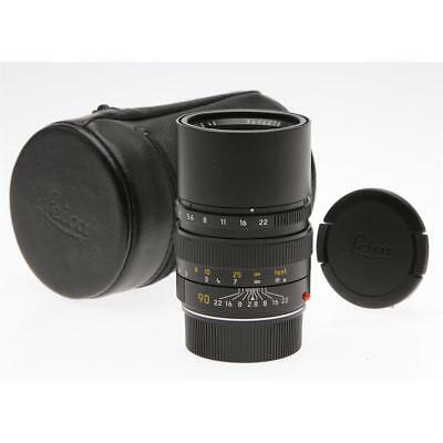 Leica Elmarit M 90mm f/2.8 Lens (Black) Leica Germany Cat# 11807