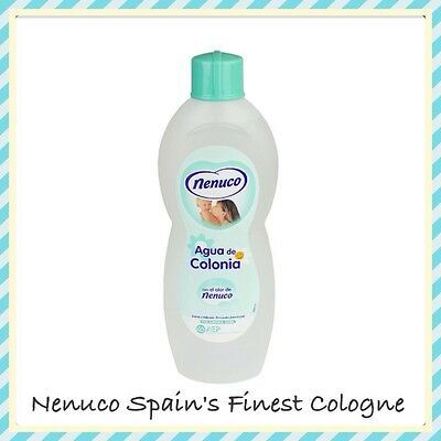 X2 Nenuco Agua De Cologne Postage Included Special Offer Price! 600Ml