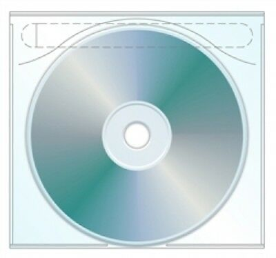 (SAMPLE) - 1 CD Plastic Sleeve Tamper Evident Adhesive Back