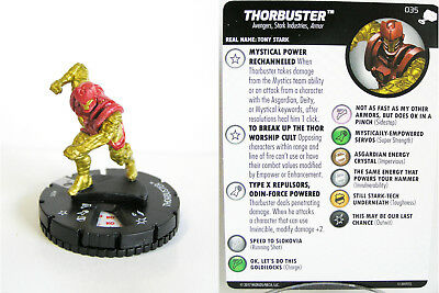 Heroclix - #035 Thorbuster - The Mighty Thor