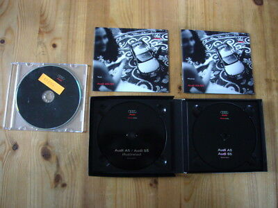 Audi A5 & S5 press kit with 2 CDs & 2 booklets in box excellent, 2007 plus extra