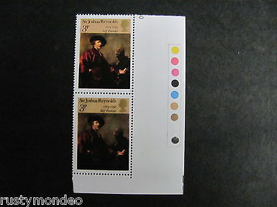 QEII  SG 931 British paintings 39p 1973  Cylinder controls, 1973, MNH.