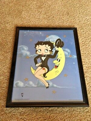 BETTY BOOP Up on the Moon Sericel - Limited Edition of only 3000 with COA
