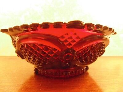 Avon Cape Cod Ruby Red Small Fruit/Dessert Bowl