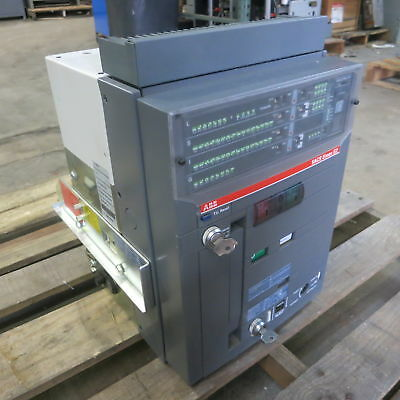ABB 800 Amp E2S-A 08 SACE Emax E2 Draw-Out / EO Breaker w LSIG PR121/P Trip 800A