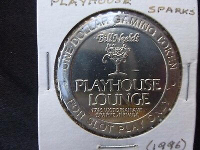 Playhouse Lounge Sparks Nevada $1 Route Token