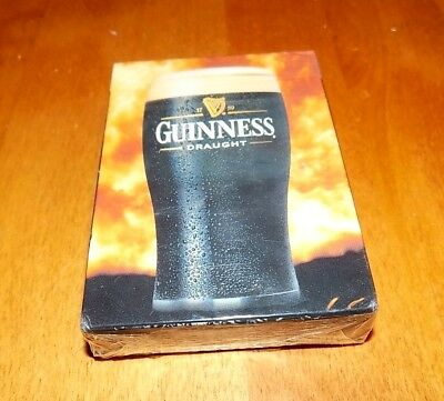 GUINNESS Draught Stout Beer Playing Cards Card Deck Carta Mundi Brand SEALED NEW