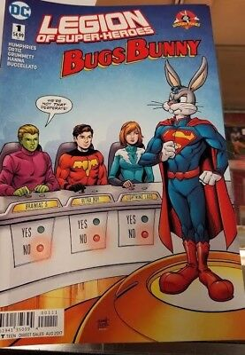 Legion of Superheroes - Bugs Bunny #1  DC COMICS  LOONEY TUNES Comic Book NM