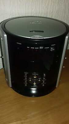 Wharfdale Ccr1Cd Compact Disc Radio Alarm Black And Silver