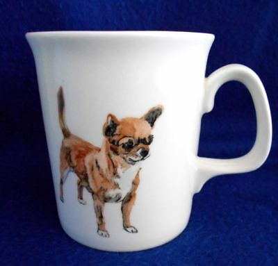 NEW NEVER USED Great Gift! Chihuahua Dog Signed Mug from England Excellent!
