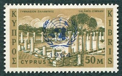 CYPRUS 1964 50m SG240 mint MH FG UN Security Council's Cyprus Resolution #W49