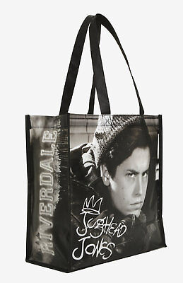 New Riverdale Characters Black & White Jughead Jones Photo Reusable Tote Bag