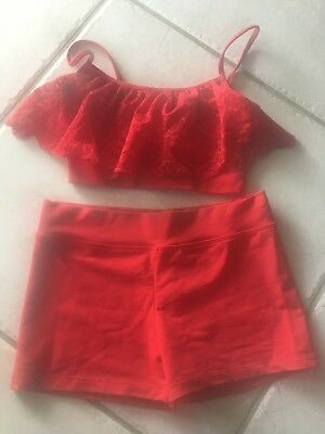 2 Pieces Dance For Girls Sz Y Large