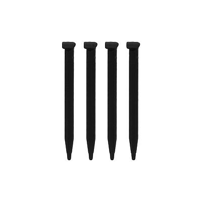 Stylus for New 2DS XL Nintendo slot in pen replacement - 4 pack black | ZedLabz