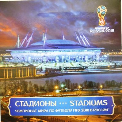RUSSIA RUSSLAND 2017 SP 2465-68 2018 FIFA Soccer World Cup Statdiums Fußball WM