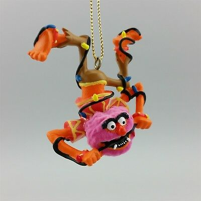 Muppets Animal Christmas Ornament Disney 2005 Flocked