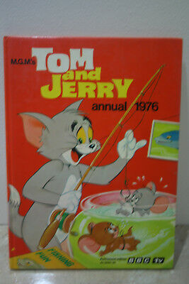 THE TOM and JERRY BBC TV Annual 1976 Unclipped - Very Good Condition