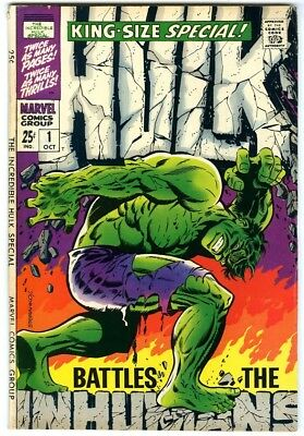 Incredible Hulk Annual #1 (1968) Fine New Original Owner Collection
