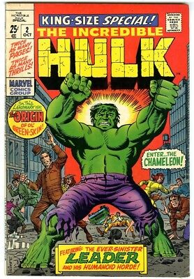 Incredible Hulk Annual #2 (1969) Fine+ New Original Owner Collection
