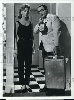 1974 Press Photo Lee Remick & Rod Steiger in No Way to Treat a Lady - cvp79221