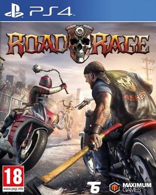 Road Rage PS4 * NEW SEALED PAL *