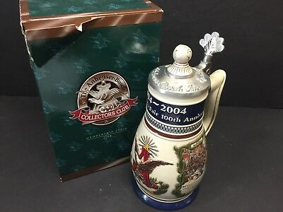 Ceramarte 2004 Anheuser Busch Collectors Club 100Th Ann. St. Louis Worlds Fair