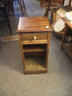 One Drawer Night Stand Vintage Antique