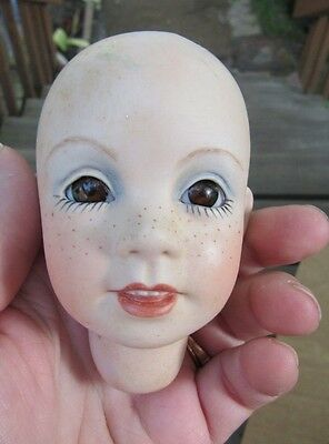 Breezy Porcelain Doll Head For Doll Making Boots Tyner Repo