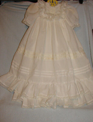Vintage Christening Gown Lace
