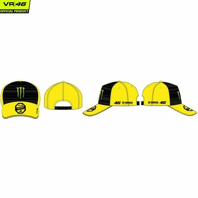 CAPPELLO CAPPELLINO VALENTINO Rossi Vr46 Monster Energy Yamaha ... f760302a1bd6