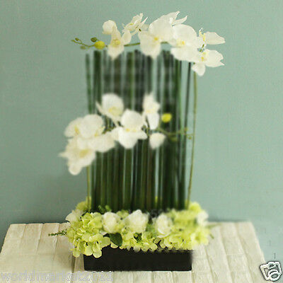 New Simple Black Ceramic Vase With Different Kinds Simulation Flowers Decoration