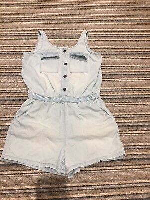 Girls Soft Denim Playsuit Age 6 Years From Next
