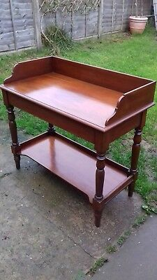 Antique mahogany washstand . Beautiful condition.