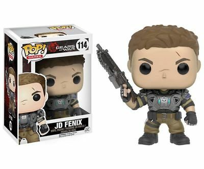 Funko Pop Neu & Ovp VINYL GAMES GOW JD FENIX ARMORED (POP 114)