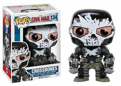 Funko Pop Neu & Ovp CAPTAIN AMERICA  CROSSBONES (POP 134)
