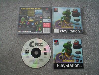 Croc Legend of the Gobbos -  PS1 - Sony PlayStation - Complete