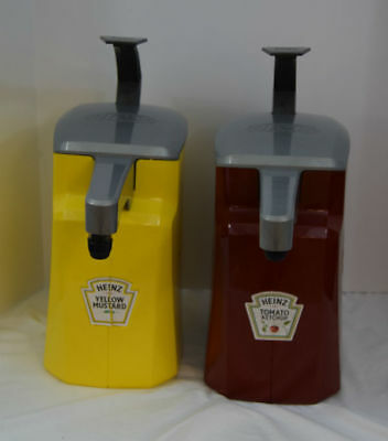 Commercial Heinz Keystone Mustard Ketchup Dispenser With Pumps