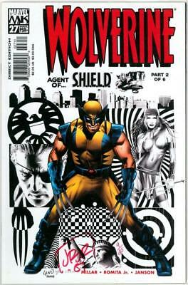 Wolverine #27 Dynamic Forces Signed Romita Jr Df Coa Ltd 25 Marvel Comics Movie