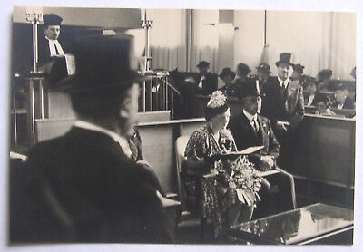 Tolle AK Princess Juliana of Netherlands at SYNAGOGE in Amsterdam JUDAICA - 1938