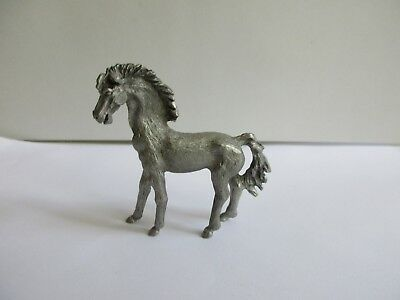 Spoontiques Pewter Figurine Horse Standing 1999