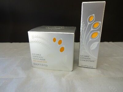 Liz Earle Superskin With Natural Neroli  Moisturiser 50Ml And Concentrate Set