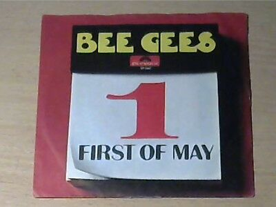 """7"""" BEE GEES * First Of May / Lamplight"""