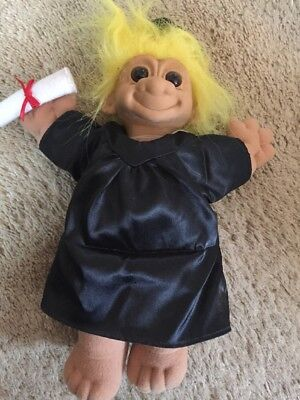 """Russ CONGRATULATIONS TROLL- 11"""" NEW WITH TAG"""