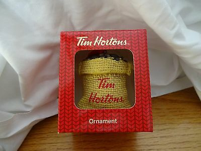Collectible Tim Hortons 2016 Holiday Christmas Ornament Coffee Beans ▪NEW▪Gift