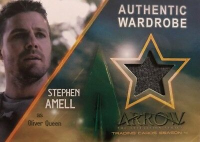 Arrow Season 4 Wardrobe Card M21 Stephen Amell As Oliver Queen
