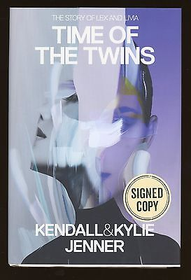 """Kendall & Kylie Jenner """" Time Of The Twins """" Signed Book AUTO Auction #2"""