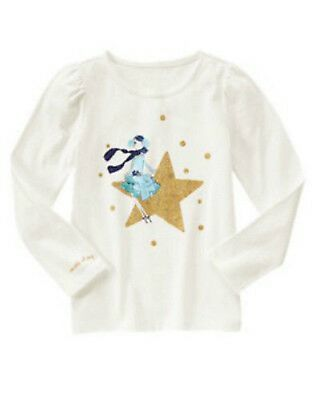 NWT Gymboree Flight of Fancy long sleeved polar bear with scarf top sz 5