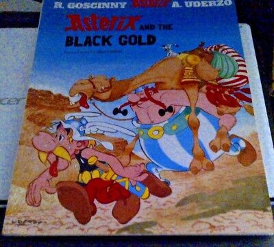 Asterix: Asterix and the Black Gold Book 26 by Albert Uderzo 9780752847740