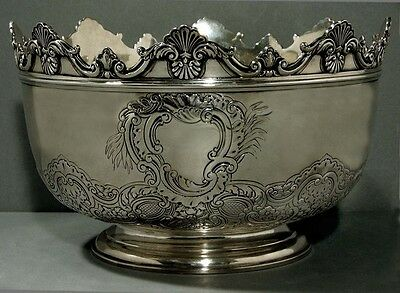 English Sterling Montieth     Made 1767                Was $8500  Now No Reserve