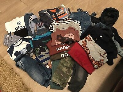 Bundle Of Boys Next Clothing 29 Items Mainly Spring 2017 100% Next 3-6 Months